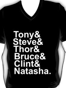 The Avengers (white text) T-Shirt