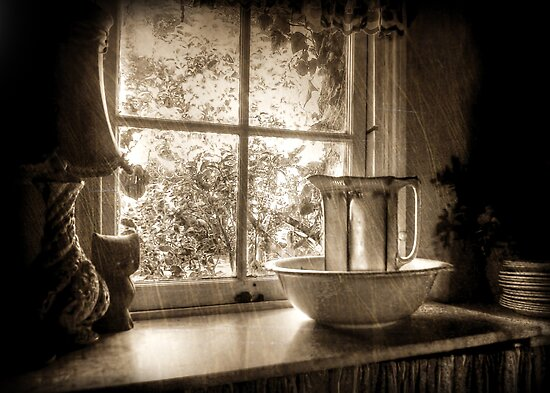 The Scullery ~ Sepia by Rosalie Dale