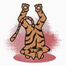 Yogic Tiger by artyrau