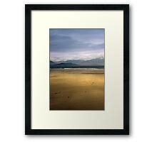 maharees beach and bay Framed Print