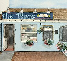 'The Place' Fish and Chip Shop Pelsall by Lynne  M Kirby BA(Hons)