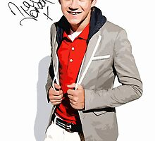 Niall Horan Canvas Art with Autograph by kmercury