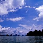Beautiful Phang Nga Bay by skellyfish