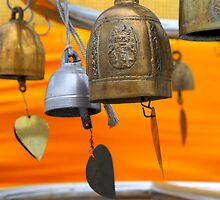 The Bells of Wat Saket II by skellyfish