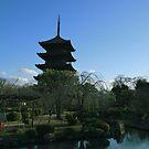 Pagoda Garden by skellyfish