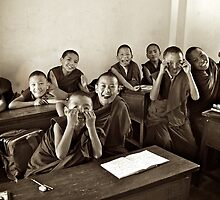 Young Monks by Valerie Rosen