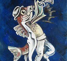 Trumpet Fish by Ellen Marcus