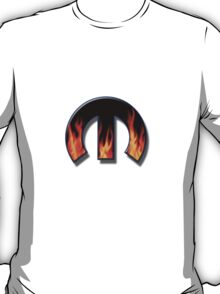 M with Flames T-Shirt