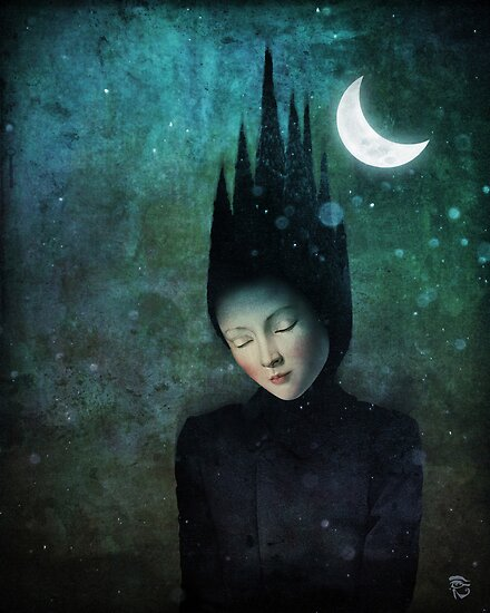 Moonlit Night by ChristianSchloe
