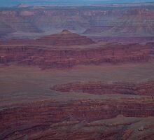 Moon Over Dead Horse Point 2 by Kim Barton