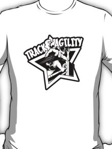 Track & Agility (Black/White) (Sticker version) T-Shirt