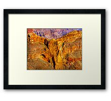 Eagle Rock - Grand Canyon Framed Print
