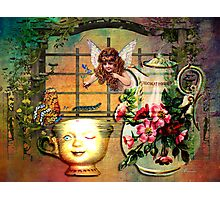 NOT YOUR EVERY DAY TEA PARTY Photographic Print