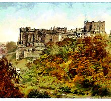 Beautiful Britain - Durham Castle, England by Dennis Melling