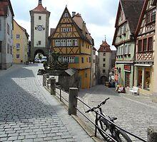 Rothenburg oder Trauber, Franconia Germany by mousesuzy