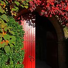 Knightshayes Court, Entrance to the stable block by A3Art
