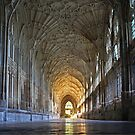 'Polished Calm' - Gloucester Cathedral by A3Art