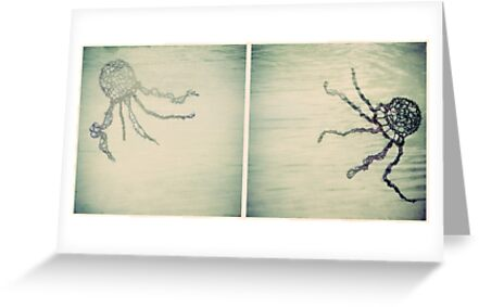 Jellyfish Diptych by Sybille Sterk