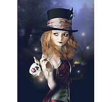Alice in the dark Photographic Print