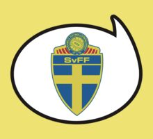 Sweden Soccer / Football Fan Shirt / Sticker by funaticsport