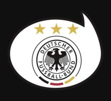 Germany Soccer / Football Fan Shirt / Sticker by funaticsport