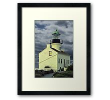 Cabrillo National Monument Lighthouse in San Diego Framed Print