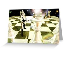 Game For Throne Greeting Card
