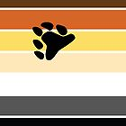 Bear Brotherhood Pride Flag by ShowYourPRIDE