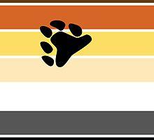 Bear Brotherhood Pride Flag by ShowYourPRIDE