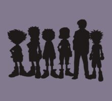 All leaders Digimon by AODigimon