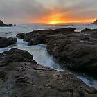 Big Sur Sunset by Stephen Vecchiotti
