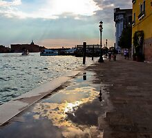 SUNSET IN VENICE by Val Ritter