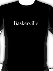 Baskerville (white) T-Shirt
