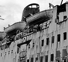 Duke of Lancaster. Superstructure by Stan Owen