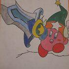 Kirby Super Sword by Tyler Jones