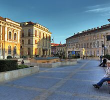 Sopron plaza by zumi