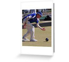 M.B.A. Bowler no. a147 Greeting Card