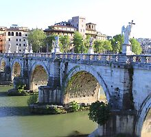 Ponte San Angelo by Ben Fatma Marc