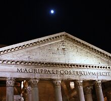 Pantheon by night, Roma by Ben Fatma Marc