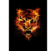 Tyger Tyger, Burning Bright Photographic Print