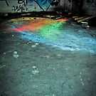 A Path of Colour - Graffiti by digihill