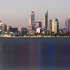 Perth, Western Australia, layered by Nigel Donald
