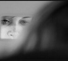 Portrait of Ellie in Car by Cimera