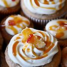 Apple caramel cupcakes by Robin Nellist