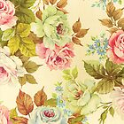 Vintage Floral Dream by GirlyGirl
