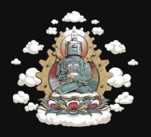 """Mr. Ohmz"" the Buddha Bot v6 Kids Clothes"
