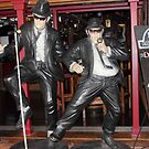Blues Brothers in Cairns, Australia by Jola Martysz