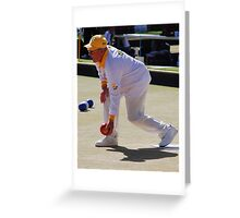M.B.A. Bowler no. a235 Greeting Card