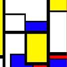 Piet Mondrian iPhone Case by Austin Kaplan
