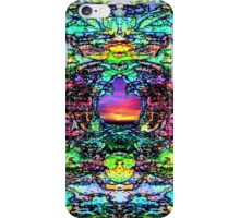 """""""The 1960's Abstract"""" iPhone Case/Skin"""